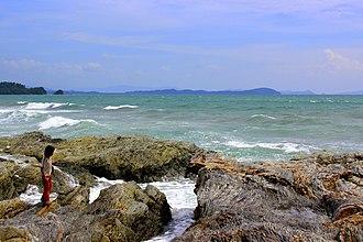 San Vicente, Palawan - Image: Imuruan Bay in San Vicente 02