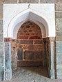 Incription on wall Inside Isa Khan Niyazi's tomb mosque in Delhi 2.jpg