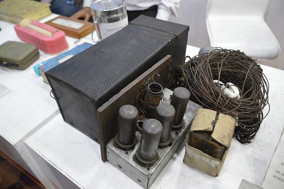 Indian National Army Possessed Transmitter - 1944 CE - Kolkata 2017-02-05 5116