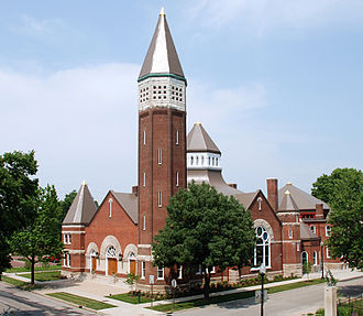 Indiana Landmarks - Indiana Landmarks Center is located in the former Central Avenue United Methodist Church in Indianapolis.