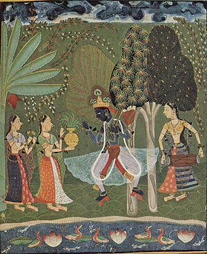 Vaishnavism - Krishna with Gopis
