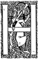 Initial at p.3 of Sir Gawain and the Lady of Lys (1907).png