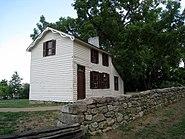 Innis House Exterior and Sunken Road in Fredericksburg and Spotsylvania National Military Park