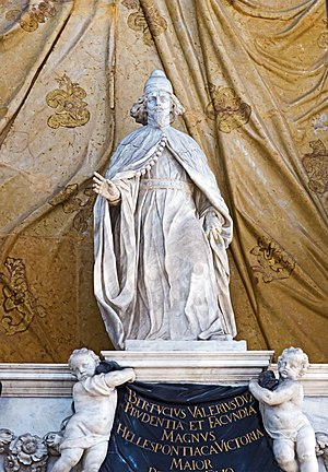 Pietro Baratta - Image: Interior of Santi Giovanni e Paolo (Venice) Bertuccio Valier