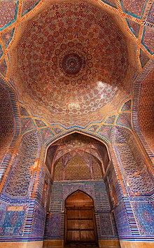 Interior of Shah Jahan Mosque.JPG