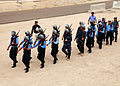 Iraqi Police students students march on to the training area before demonstrating clearing a building at the Police Academy in Basrah, Iraq, April 20, 2011 110420-A-YD132-055.jpg