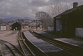 Irton Road railway station
