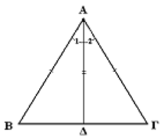 Jeet Kune Do - The centerline can be expressed as the height of a triangle.