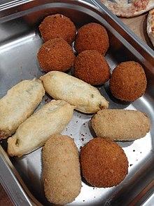 Diversi tipi di crocchette