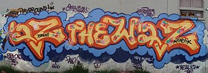 IZ the Wiz - Graffiti by Iz the Wiz