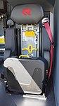 JMSDF Rosenbauer Panther 6x6(41-4125) seat at Maizuru Air Station July 26, 2015.jpg