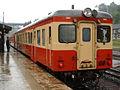 JNR Kiha 52 (JR East)-100 at Hottoyuda Station 1.jpg
