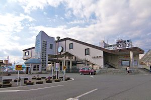 Gotemba Station - Hakone Otome Side in February 2012