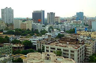 Chowringhee - Chowringhee skyline 2011