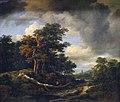 Jacob van Ruisdael - Houthakkers in een bos.jpg
