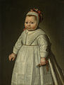 Jacoba Bontemantel (geb 1643). Dochter van de Amsterdamse koopman Frederik Bontemantel en Agatha Hasselaer met wie hij in 1642 trouwde Rijksmuseum SK-A-1252.jpeg