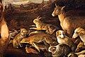 Jacopo bassano, orfeo incanta gli animali, 1585 ca. 05 conigli, gatti, scimmie.jpg