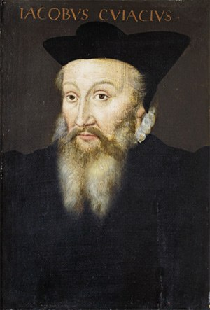 Jacques Cujas - Jacques de Cujas by an anonymous painter