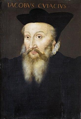 Jacques Cujas - Jacques de Cujas by an anonymous painter