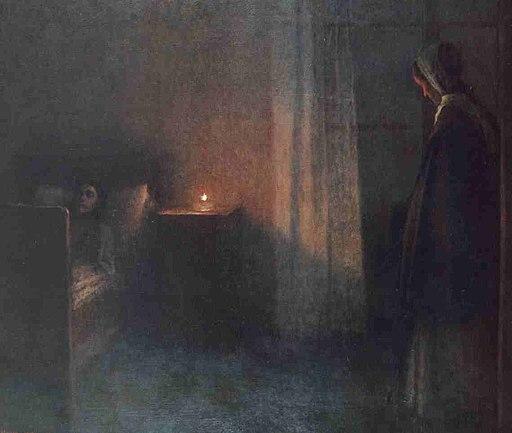 Jakub Schikaneder - U divcina loze (1900-10)