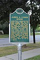 James A. Lynch House historical marker, 202 West Main Street, Manchester Michigan - panoramio.jpg