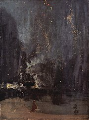 Nocturne in Black and Gold: The Falling Rocket (1874),Detroit Institute of Arts