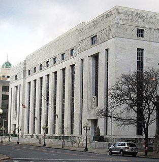 James T. Foley United States Courthouse 1930s US federal government building in Albany, New York