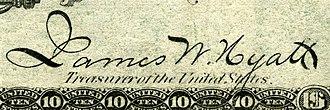 James W. Hyatt - Image: James W. Hyatt (Engraved Signature)