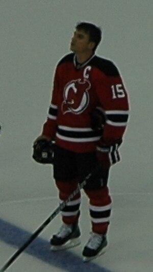 Jamie Langenbrunner - Lagenbrunner with the New Jersey Devils during the 2007–08 season