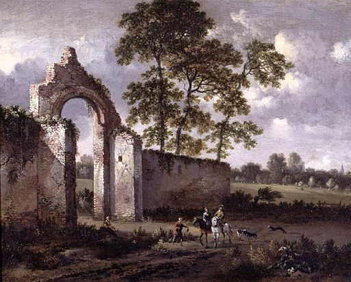 Jan Wijnants - Landscape with a Ruined Archway