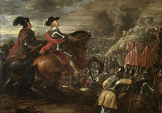 Battle of Nördlingen (1634) - The Battle of Nördlingen by Jan van den Hoecke