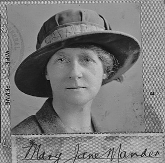 Jane Mander - Jane Mander in 1923