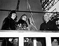 Jane T Lingo with Trumans USS Missouri 1946.jpg