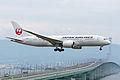 Japan Airlines, Boeing 787-8 Dreamliner, JA824J (18461160306).jpg