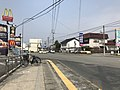 Japan National Route 183 at Minami-Hatajiki Crossroads.jpg