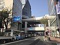 Japan National Route 202 near Nishitetsu-Fukuoka (Tenjin) Station.jpg