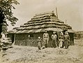 Japanese Ainu family in front of their dwelling in the Department of Anthropology exhibit at the 1904 World's Fair.jpg
