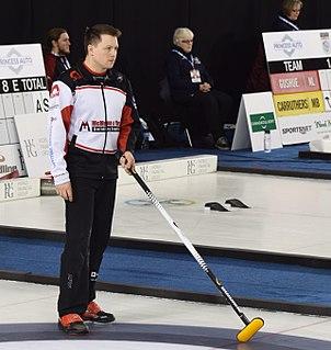 Jason Gunnlaugson Canadian curler