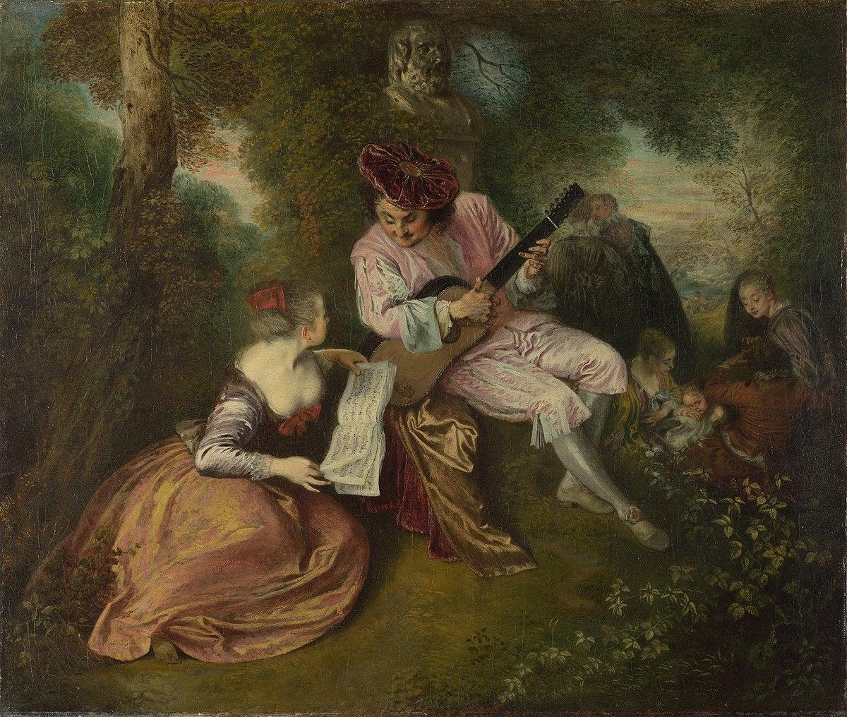 Jean-Antoine Watteau - The Love Song.JPG