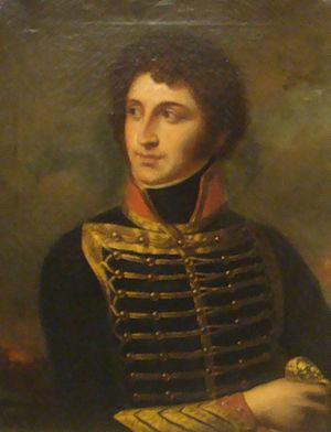 Jean-François Joseph Debelle - Jean-François Joseph Debelle; portrait by Pierre-Joseph Dedreux-Dorcy (1837)