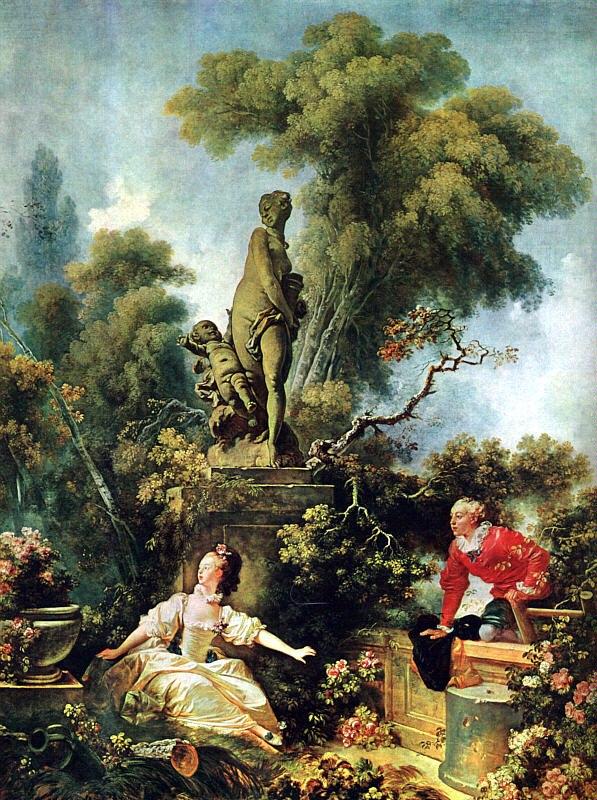 Jean Honore Fragonard Surprise