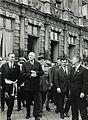 Jean Taittinger Général de Gaulle Chancelier Adenauer.jpg