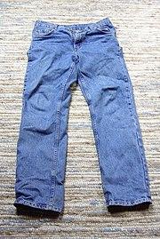 блю джинс.