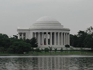 Picture of the :en:Jefferson Memorial from acr...