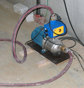 Pump - A small, electrically powered pump