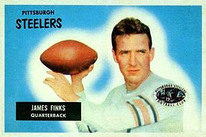 Jim Finks - Image: Jim Finks 1955Bowman