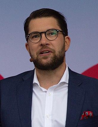 Jimmie Åkesson - Jimmie Åkesson in Almedalen in July 2018
