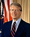 Retrato de Jimmy Carter.