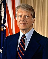 Portrait officiel du président Jimmy Carter