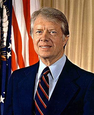 1977 in the United States - January 20: Jimmy Carter becomes President